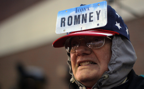 The Iowa caucuses are a make-or-break moment for GOP contenders—even though the caucuses themselves are warped by corporate money, governed by undemocratic rules, and don't even produce a single delegate to the Republican National Convention.  Credit: Reuters Pictures