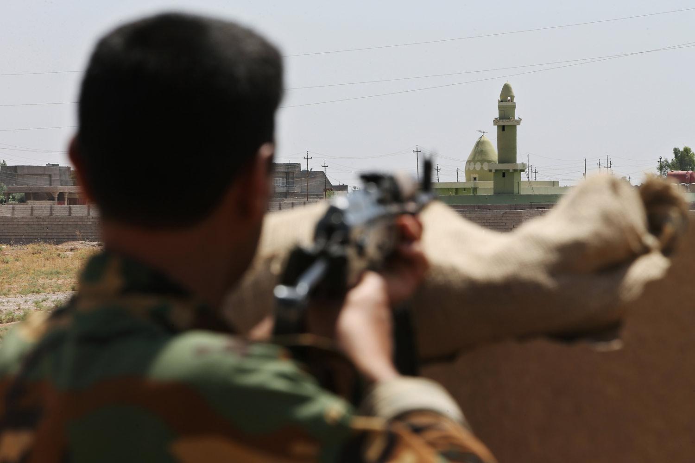 Kurdish-fighter