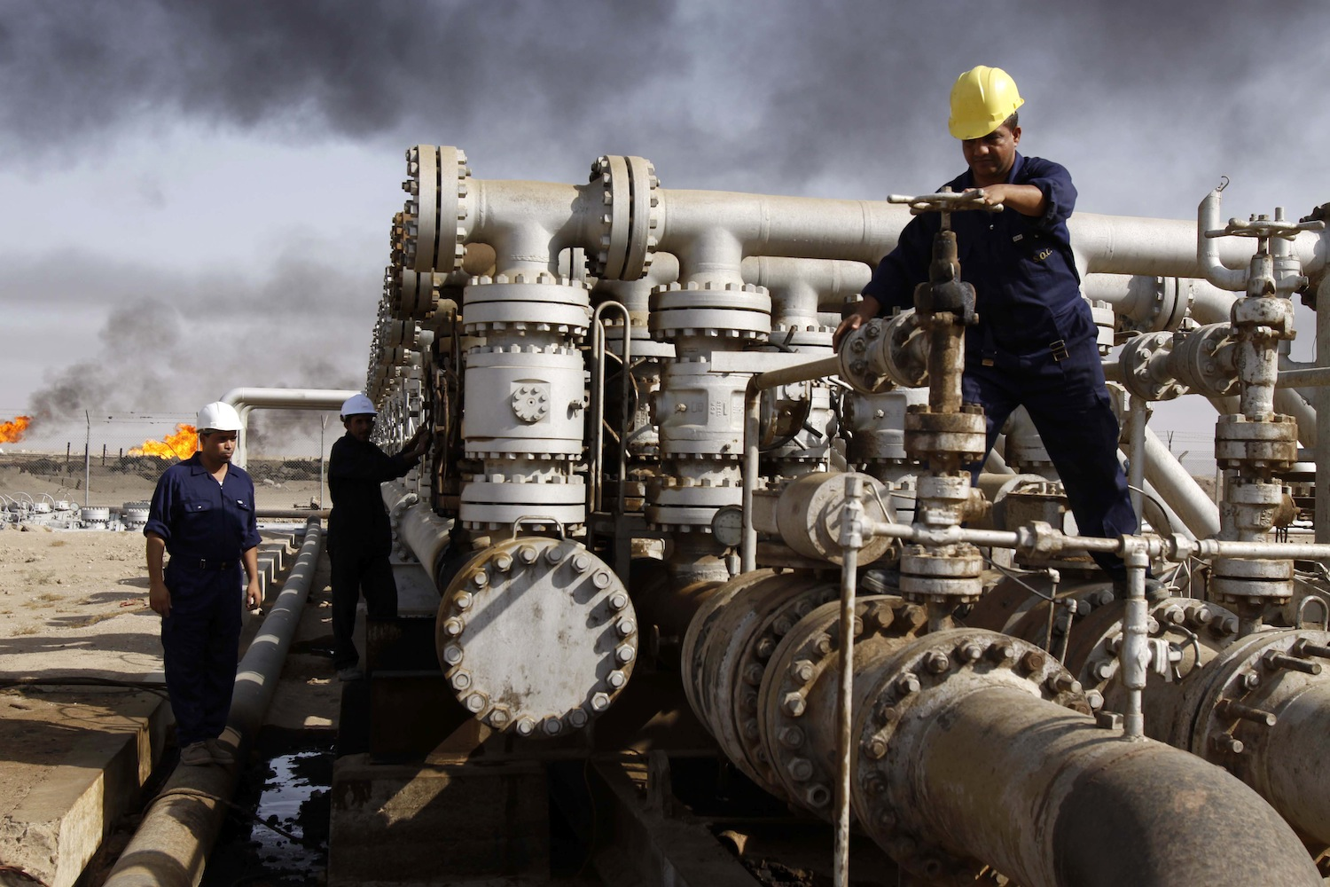 Iraqi-Oil-Refinery