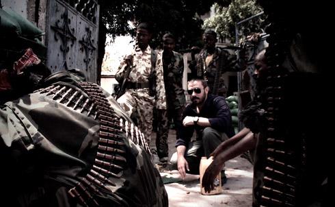 Jeremy Scahill in Mogadishu, Somalia