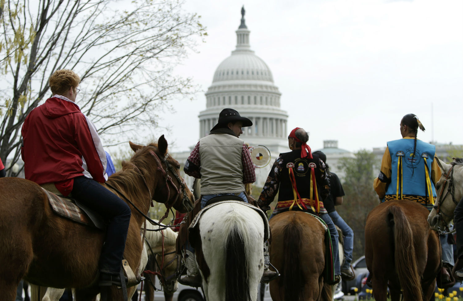 Cowboy-Indian-Alliance-protest-against-Keystone-XL