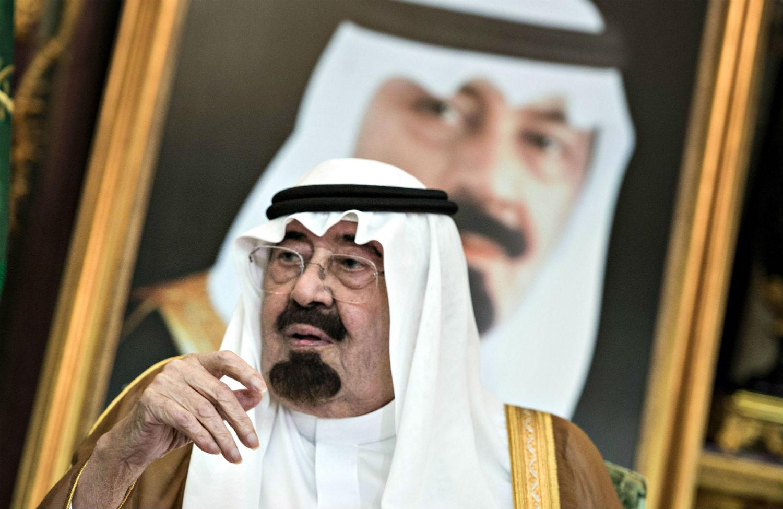 King Abdullah Of Saudi Arabia Brendan Smialowski Reuters