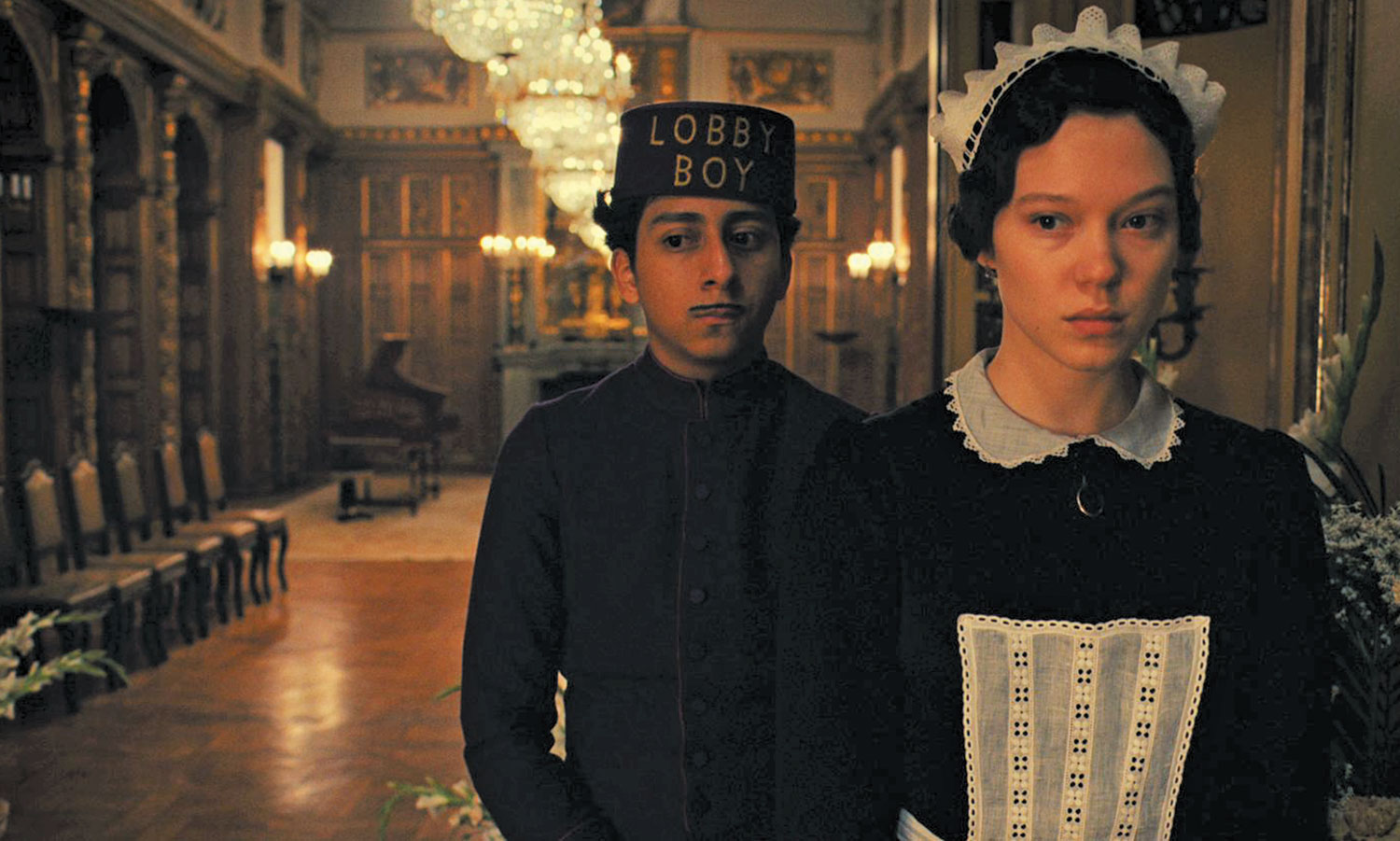 Tony-Revolori-as-Zero-and-Léa-Seydoux-as-Clotilde-in-The-Grand-Budapest-Hotel