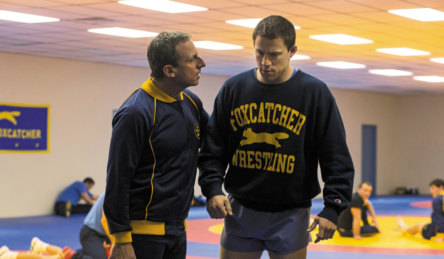 Steve-Carell-left-and-Channing-Tatum-in-Foxcatcher