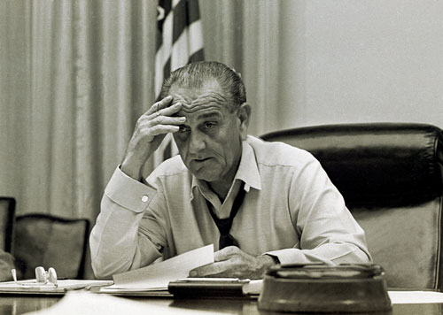 "In 1965, The Nation  hailed the voting-rights bill which President Lyndon Johnson sent to Congress ""as a result of the nation's anger, and his own, over the callous violence of Alabama state troopers at Selma and the murder of the Rev. James Reeb,"" and called the legislation ""a historic step forward--but long overdue and far from enough.""AP Images"