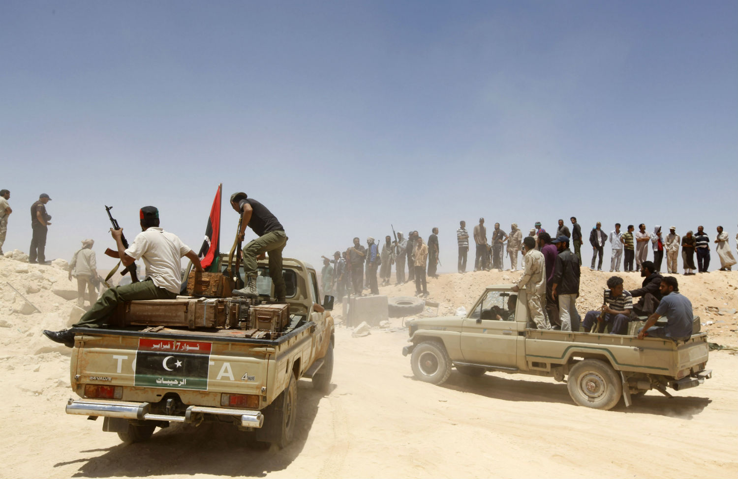 Libyan-rebels