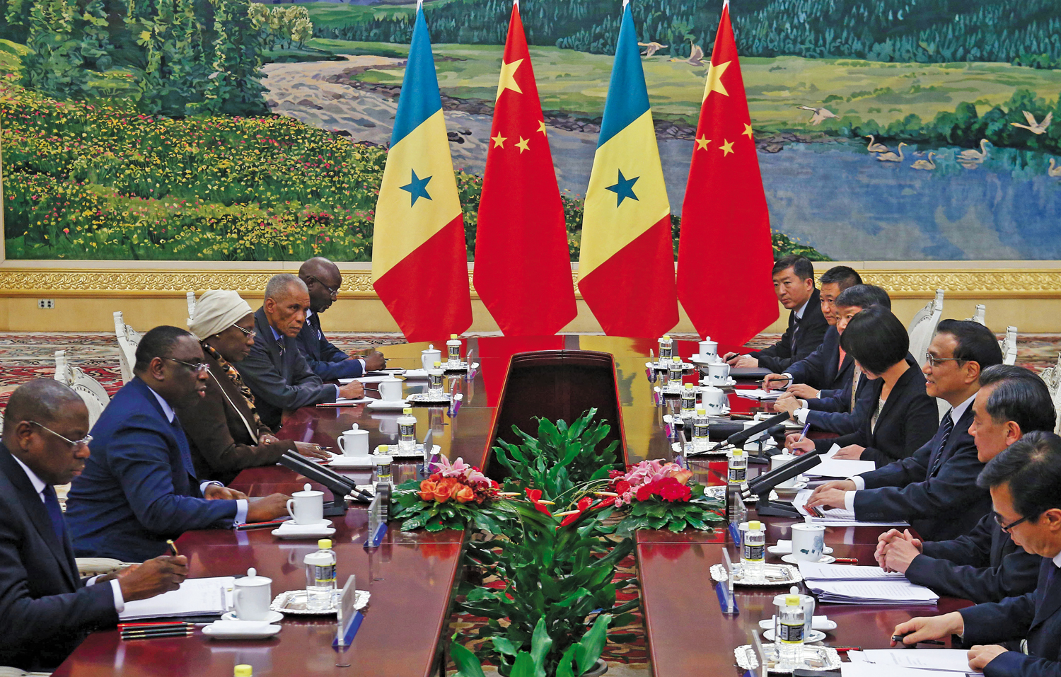 President-Macky-Sall-of-Senegal-and-Chinese-Premier-Li-Keqiang-last-February