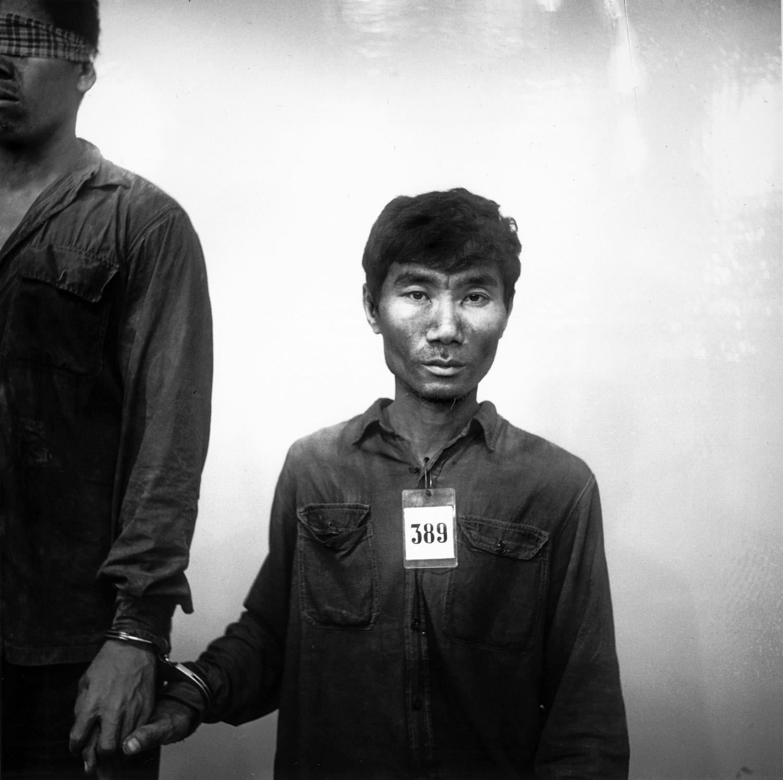 Untitled-prisoner-389-of-the-Khmer-Rouge-by-Nhem-Ein-1975–79