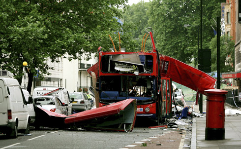 And they had listened in on the voicemails ofvictims of the July 7, 2005, London bombing.  Credit: Reuters Pictures