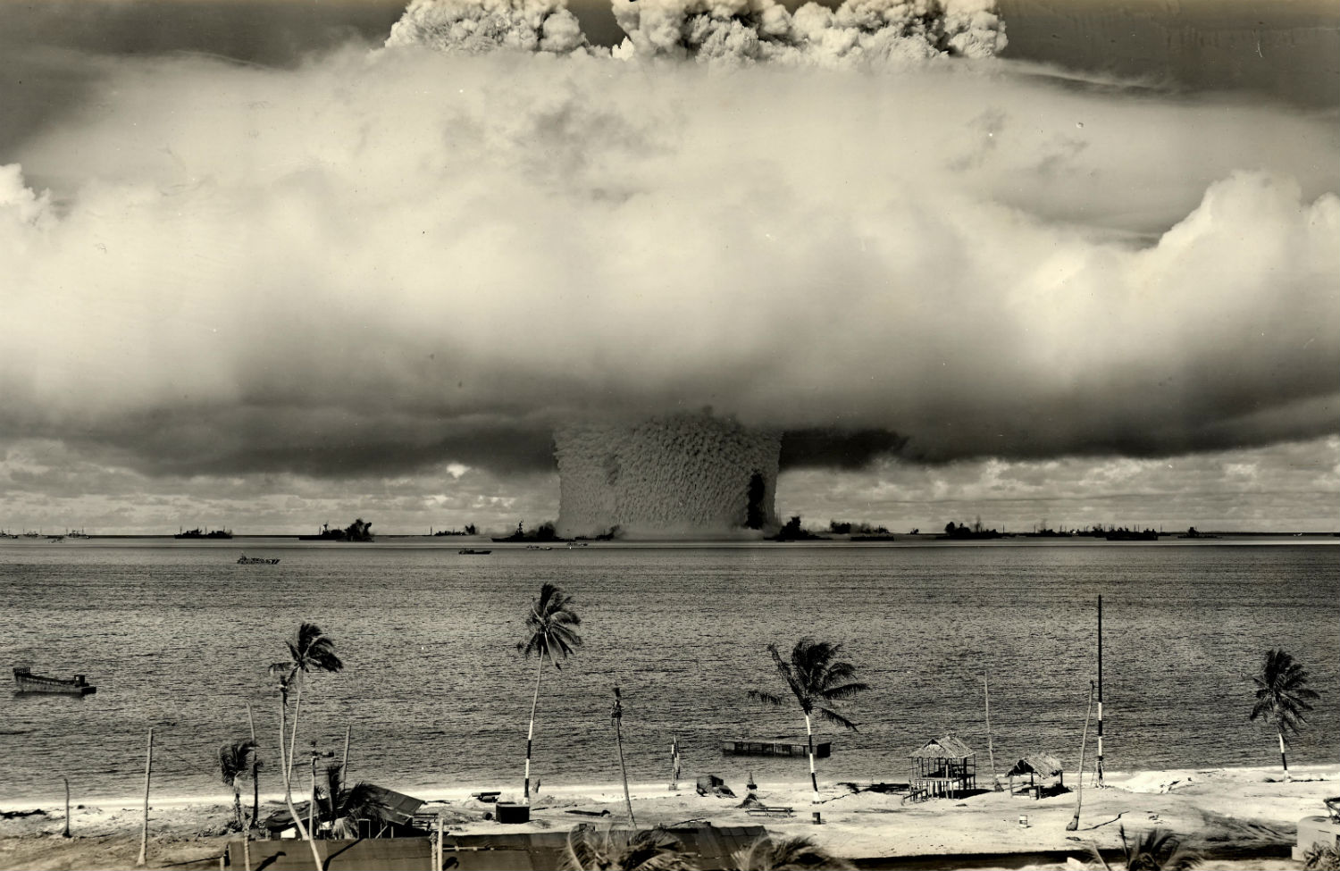 Operation-Crossroads-in-the-Marshall-Islands