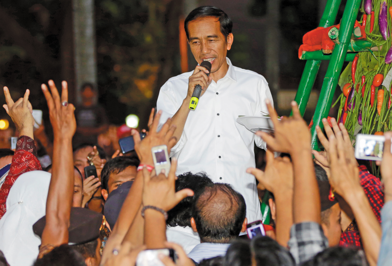 Indonesian-president-elect-Joko-Widodo-in-Jakarta-Wednesday-July-23-2014