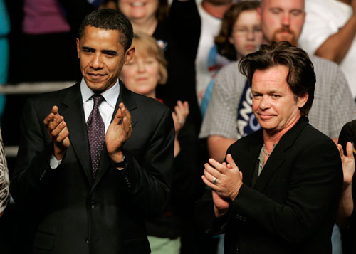 "Some may scoff that the all-American musician John Mellencamp could have a chance as a Senator. But is speculation really that far off?  Mellencamp's songs have become an icon of Americana and the backbone of populist political movements. He has issued letters to Republican Senator John McCain to stop ""political agendas, corporate greed and overall manipulation."" He has held Farm Aid concerts, and helped the middle class, while maintaining ""street cred"" and rocker sensibility. He has been hailed as a true populist--an advantage that may be great enough to win Bayh's seat."