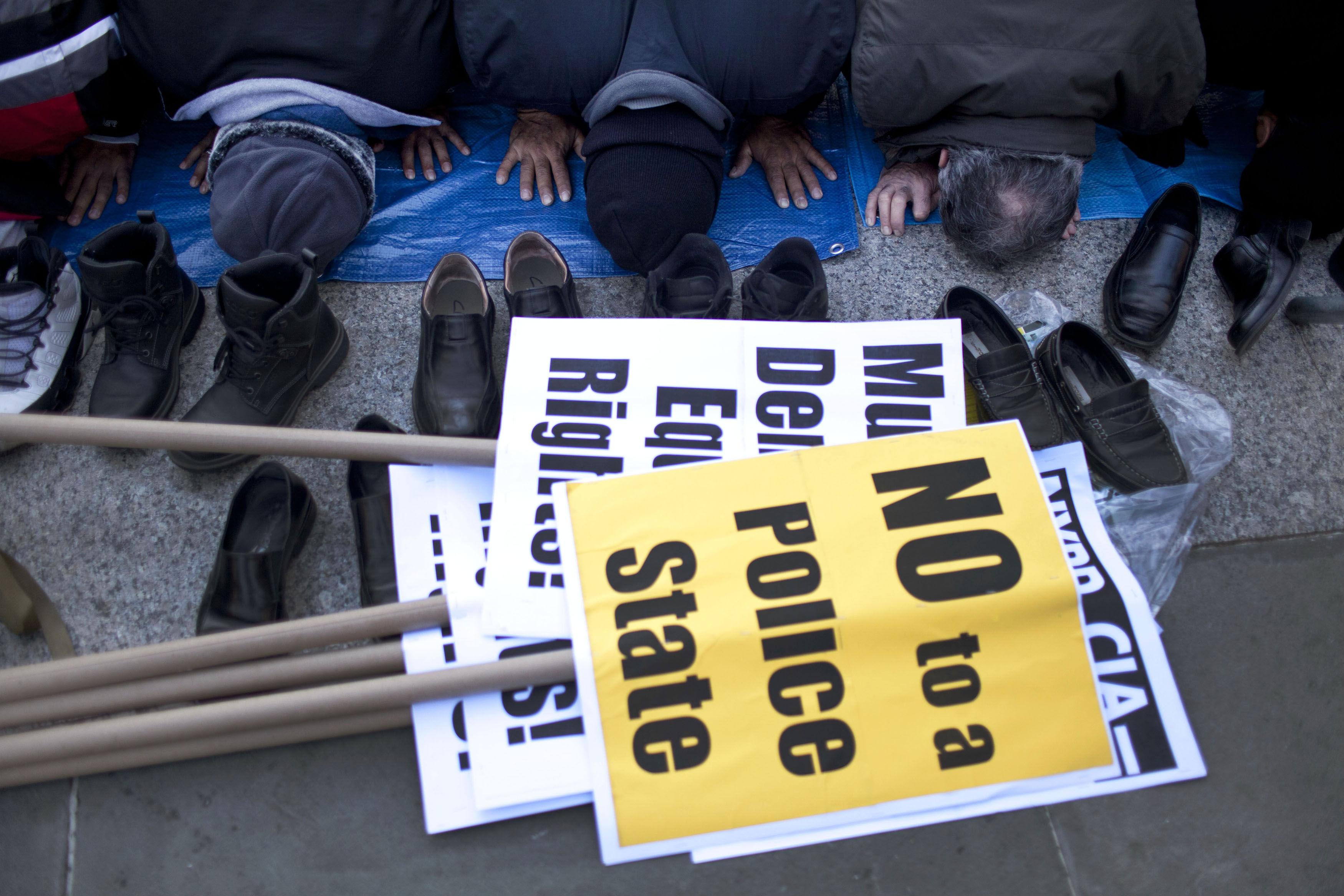 Muslim-Protest
