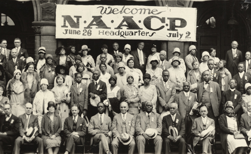 """In 1909, in part to counter instances of open disregard for African-American life such as had occurred in Memphis and was still occurring over forty year's later, a coalition of leading writers and intellectuals gathered in New York City to establish the National Association for the Advancement of Colored People.  The Nation's Oswald Villard—grandson of the prominent abolitionist William Lloyd Garrison and this magazine's editor for over a decade in the early years of the twentieth century—was integral to the founding of the new organization, and """"his fearless and outspoken determination…held the group together in the early and difficult years,"""" Flint Kellogg wrote in 1959. By the time Villard left the organization, it was, in the words of NAACP director W.E.B. Du Bois, """"out of debt, aggressive, and full of faith.""""  Credit:Library of Congress"""