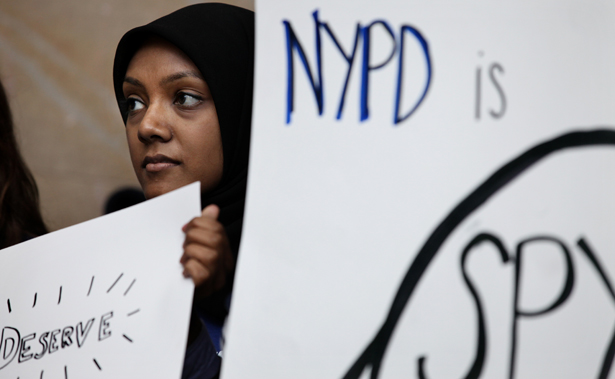 Protest-against-NYPD-surveillance