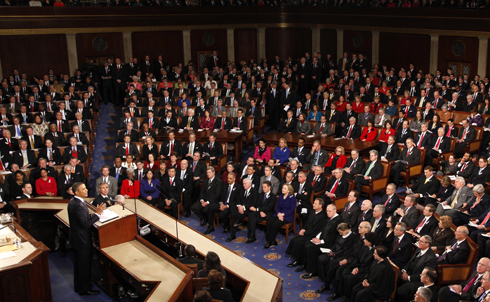 "In his State of the Union address last night, President Obama laid out the main policy proposals his administration will pursue in the coming year, and acknowledged the difficulties Democrats will face in pushing their agenda. ""It's no secret that those of us here tonight have had our differences over the last two years,"" he said. ""The debates have been contentious; we have fought fiercely for our beliefs. And that's a good thing. That's what a robust democracy demands. That's what helps set us apart as a nation.""