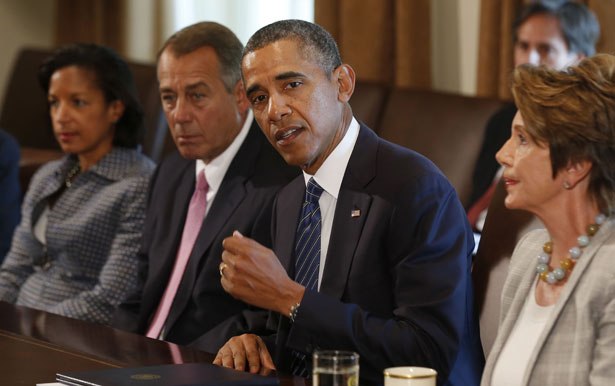 President Obama briefs on Syria