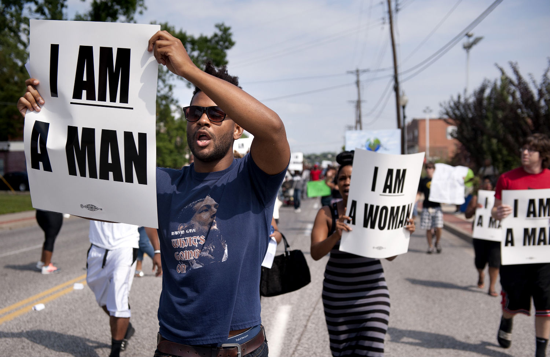 Ferguson-protest