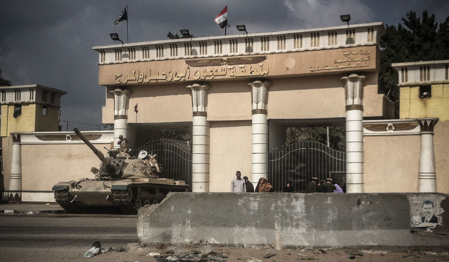 The-front-gate-of-Abu-Zaabal-a-prison-north-of-Cairo-where-hundreds-of-protestors-are-currently-detained-Photo-by-Mosaab-Elshamy