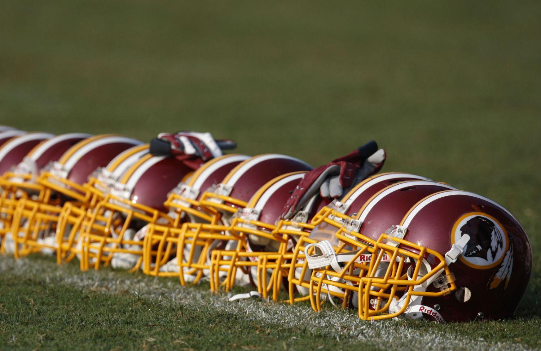 Redskins-helmets