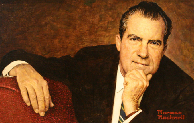 Portrait of Richard Nixon by Norman Rockwell (Creative Commons)