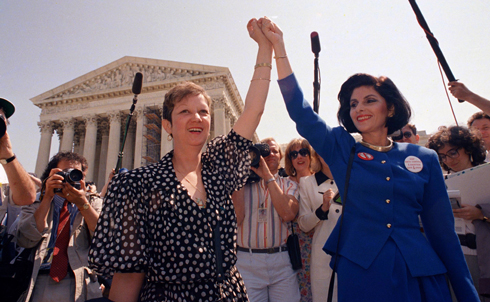 "On January 22nd, 1973, 38 years ago this week, the Supreme Court handed down the landmark Roe vs. Wade case, establishing a woman's right to seek an abortion under the Constitution's privacy protections. At the time of the court's verdict, The Nation's editors wrote that the women known in the case as Jane Roe and Mary Doe ""and the seven Justices who voted in their favor, have performed a service of incalculable importance for American womanhood.""