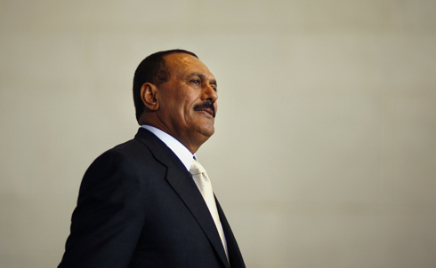 """Tens of thousands of protesters have also taken to the streets in Yemen in the past few weeks, and opposition leaders pledge to hold a """"Day of Rage"""" every Thursday until the government meets their demands. Already President Ali Abdullah Saleh has vowed not to run for reelection in 2013, but that concession has not quelled the opposition.  After 32 years in power, Saleh has a lot to answer for to the Yemeni people. Perhaps he could start by explaining why he lets the US bomb his own country. """"We'll continue saying the bombs are ours, not yours,"""" Saleh is reported to have said in one diplomatic cable released by WikiLeaks earlier this year.  Credit: Reuters Pictures"""