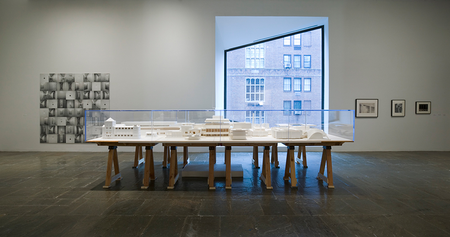 An-installation-view-of-Educational-Complex-1995-by-Mike-Kelley