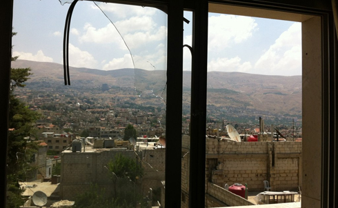 More shelling damage in Zabadani
