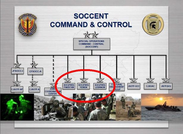 Why Are US Special Operations Forces Deployed In Over - Us northern command map