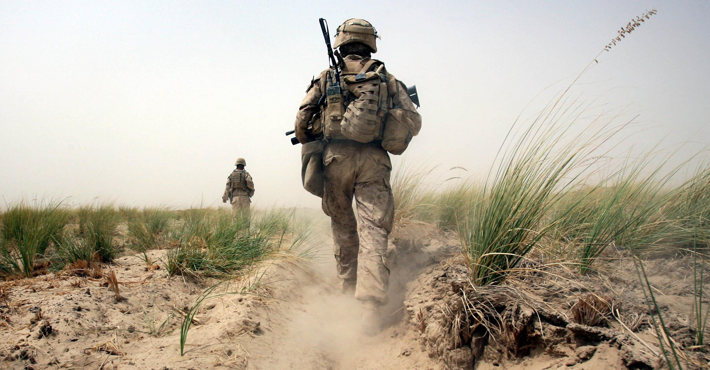 encounters with the american military in afghanistan the nation