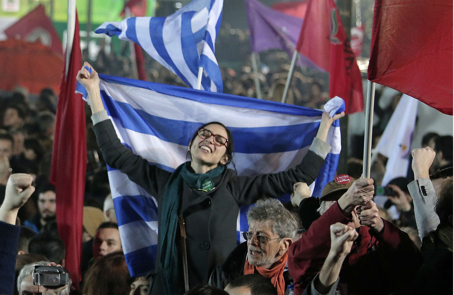 Syriza-supporters