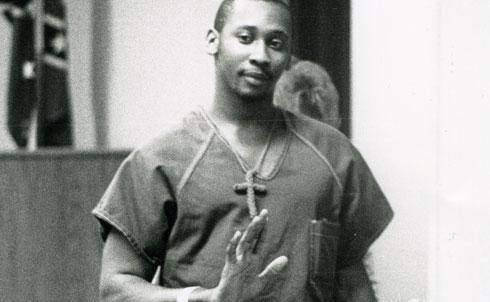 """In 1989, a black man named Troy Davis was convicted of murdering a white police officer in Georgia's Chatham County—this despite the fact that no physical evidence linked Davis to the crime, no murder weapon was ever found and several witnesses later said that police coerced them into testifying. Figures such as Jimmy Carter, Al Sharpton and Desmond Tutu have joined the grassroots appeals for the courts to retry Davis, but he remains on death row.  After NAACP President Benjamin Jealous visited Davis in prison in 2009, he said that the case echoed """"the long, sour history of wrongly-accused black men receiving 'rough justice' in the Deep South."""" That any American """"might be sentenced to death without being allowed a full airing of all the evidence is an outrage,"""" Jealous wrote, """"and represents a blatant flouting of our nation's founding principles.""""  On the eve of Davis's execution on September 21, 2011, The Nation expressed the sad fact that """"There will not be justice for Troy Davis. But his case has reawakened Americans to a relic of injustice that must be abolished once and for all.""""  Credit: AP Images"""