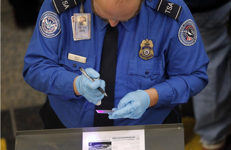 TSA-screening