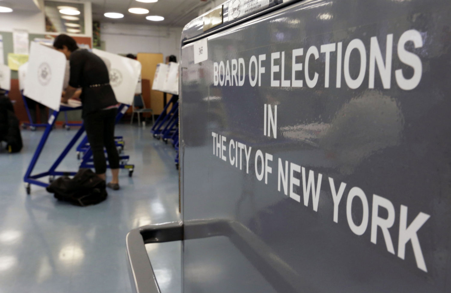 board of election in the city of new york sign
