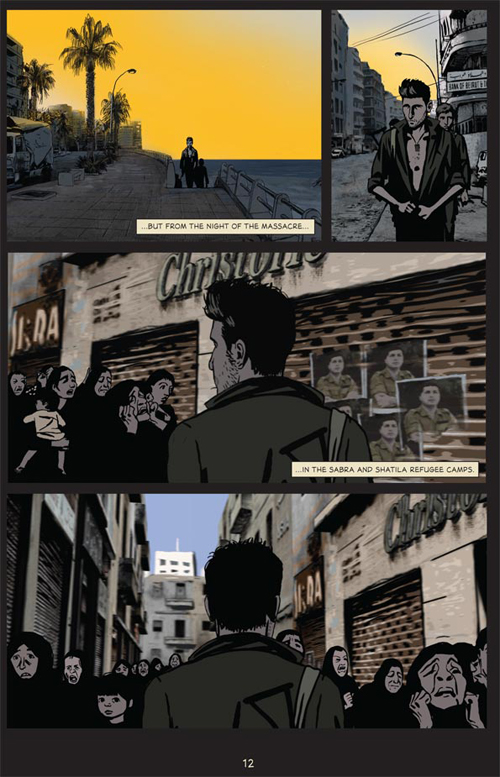 Waltz With Bashir: A Lebanon War Story by Ari Folman and David Polonsky. Copyright © 2009 by Ari Folman/Bridgit Folman Films Gang Published by arrangement with Metropolitan Books, an Imprint of Henry Holt and Company, LLC. All rights reserved.