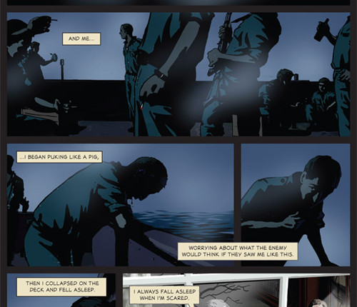 Waltz With Bashir: A Lebanon War Story by Ari Folman and David Polonsky. Copyright © 2009 by Ari Folman/Bridgit Folman Films Gang Published by arrangement with Metropolitan Books, an Imprint of Henry Holt and Company, LLC. All rights reserved. For more, read Waltz with Bashir: Introduction to the Graphic Novel, by Tom Engelhardt.