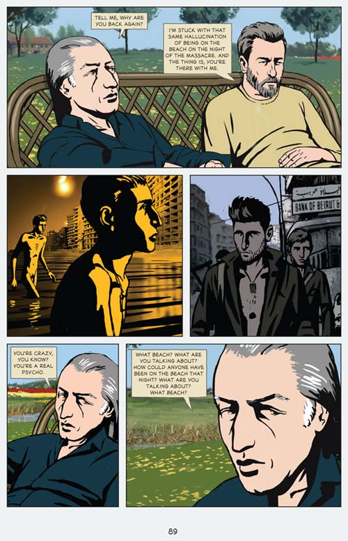 Waltz With Bashir: A Lebanon War Story by Ari Folman and David Polonsky. Copyright © 2009 by Ari Folman/Bridgit Folman Films Gang Published by arrangement with Metropolitan Books, an Imprint of Henry Holt and Company, LLC. All rights reserved. For more, read Airport to Nowhere, Waltz With Bashir, Part 2, by Tom Engelhardt.
