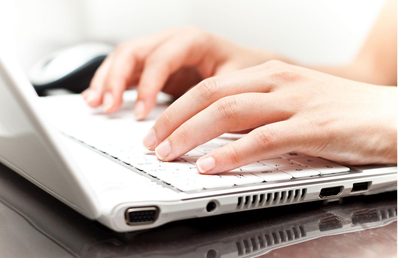 Woman-on-a-laptop