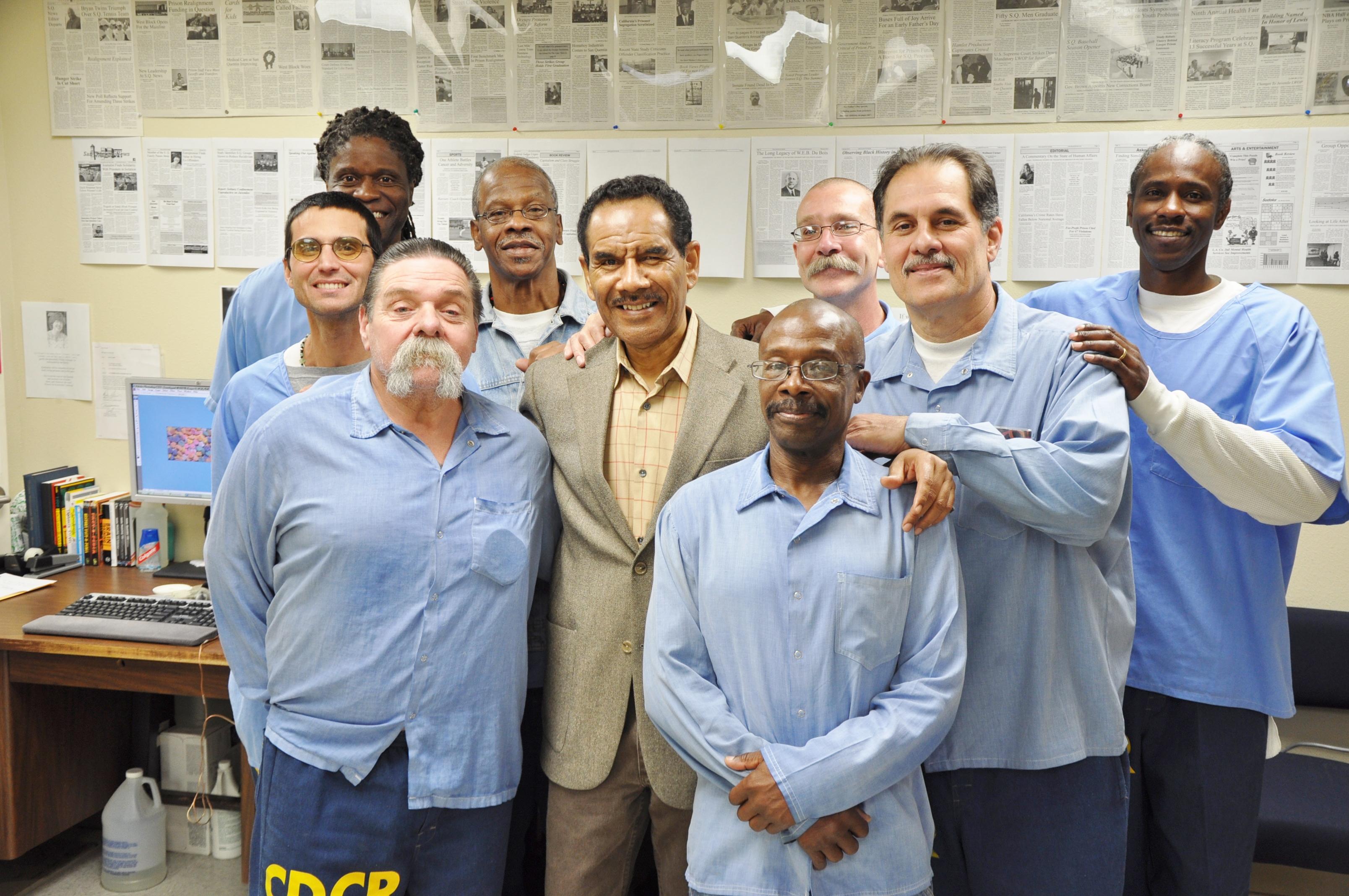 The-San-Quentin-news-staff