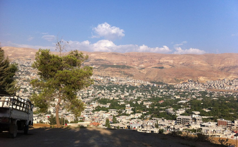 View of Zabadani, Syria