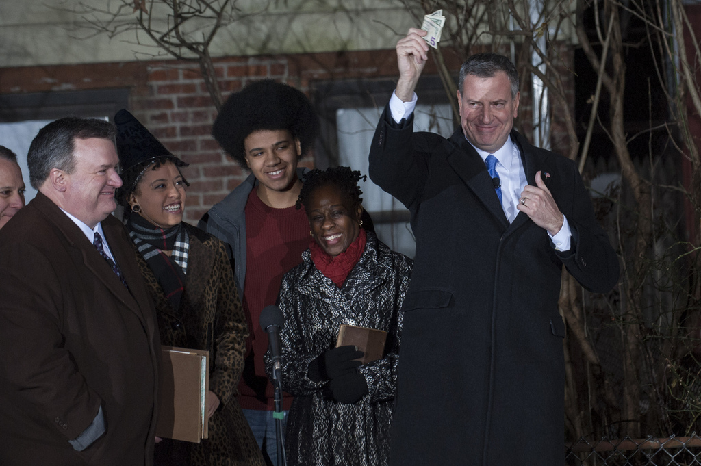 'De-Blasio-Matters'-and-Now-He's-Mayor