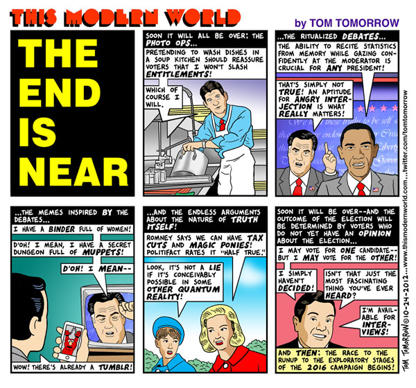 Tom Tomorrow: The End is Near