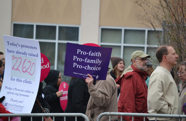 Pro-choice-rally