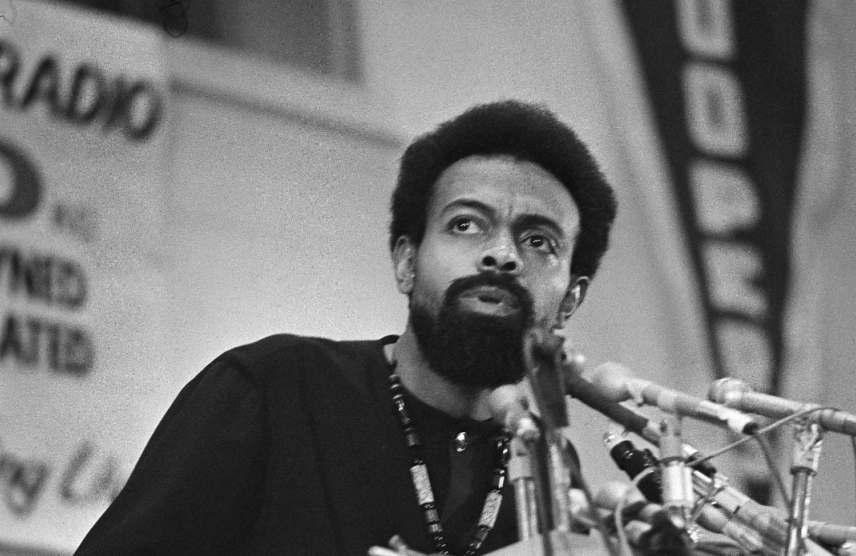 this week in nation history the passion of amiri baraka the amiri baraka speaks during the black political convention in gary na on 12 1972 ap photo julian c wilson