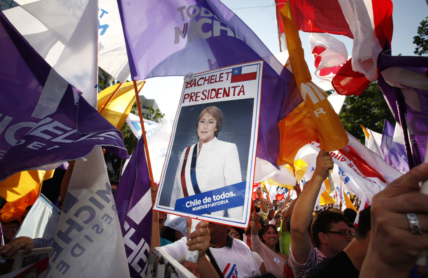 Bachelet-supporters