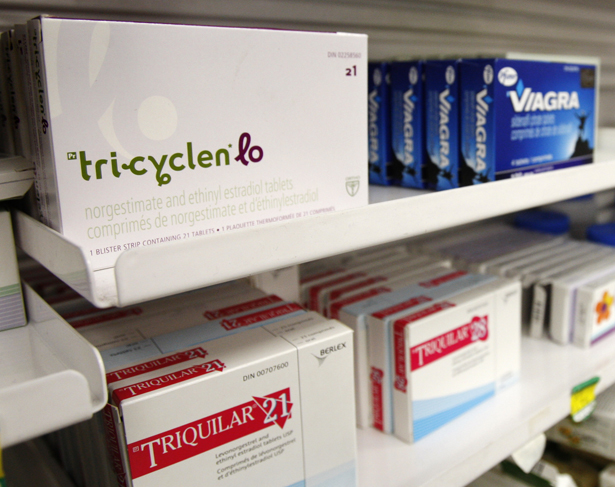 Boxes-of-birth-control-medication-and-viagra-in-a-supermarket.-Reuters-Mark-Blinch