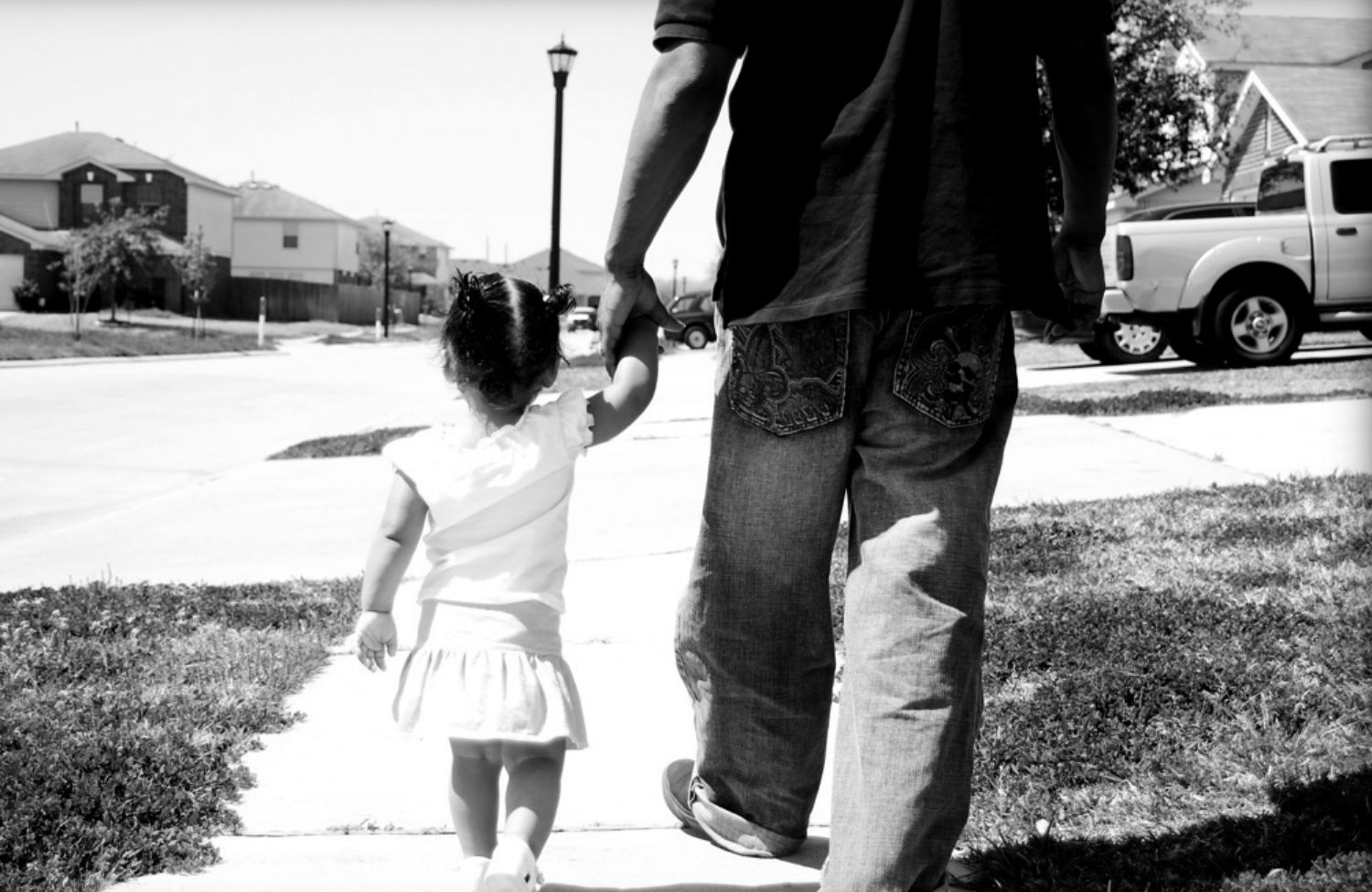 black-father-and-daugther