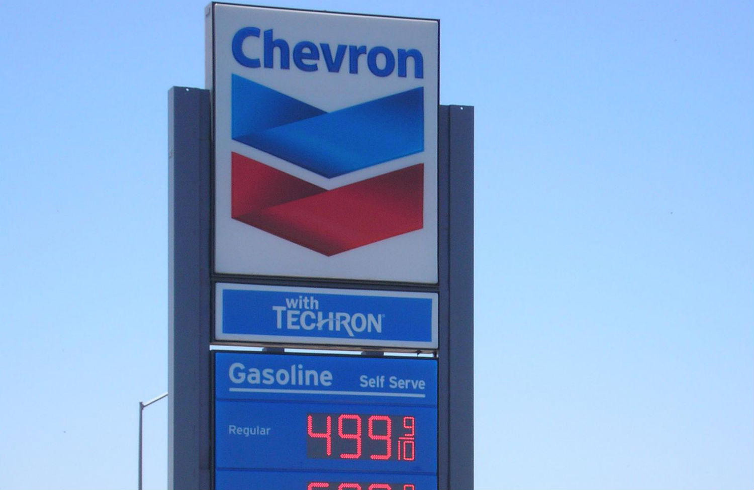 Chevron-sign