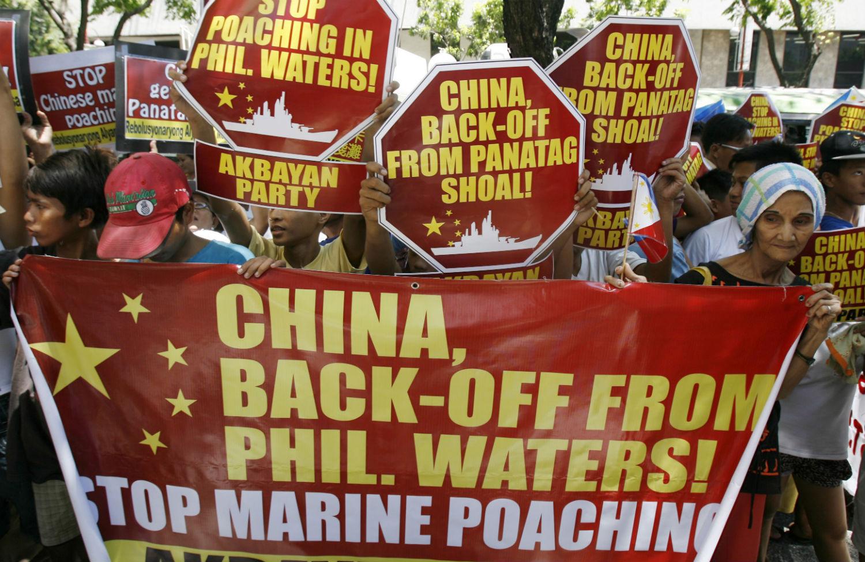 Philippines-protest